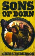 Sons of Dorn by Chris Roberson Warhammer 40,000 book paperback 40k Imperial Fists